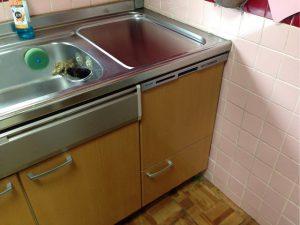 ミカドキッチントップオープン食洗機交換,三菱製,EW-CB58MK,パナソニック,NP-45MS8S