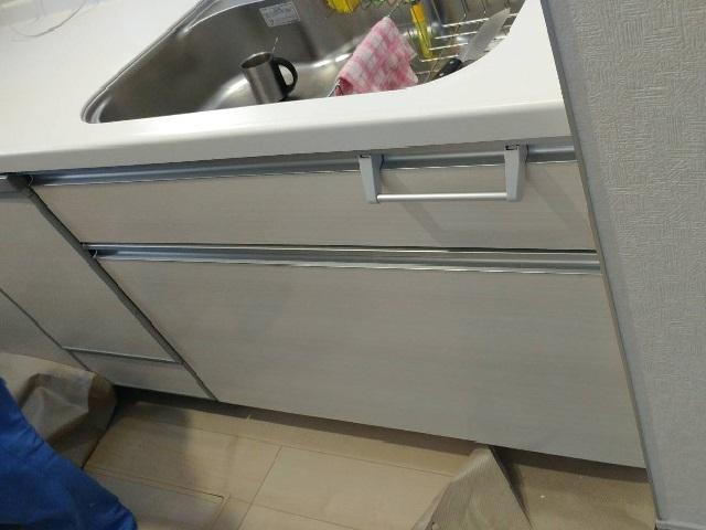 ファーストプラス,パナソニック食洗機,NP-45MD8S,新設食洗機工事,