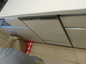 福岡県北九州市 ファーストプラス,パナソニック食洗機,NP-45MD8S,新設食洗機工事,