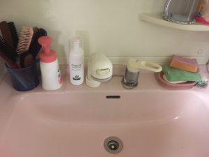 シャワー付き水栓JFAD466SYXJG5K 洗面化粧台水栓KM8007CN