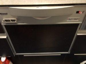 リベ・グラート平城山 ビルトイン食洗機交換 ハーマン FB4511P リンナイ RKW-C401CSV-JAC