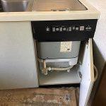 松下電工 QG32EW1 東芝トップオープン食洗機 撤去処分