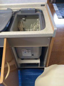 サンウェーブトップオープン型食洗機MISW-4511 パナソニックスライド食洗機 NP-45MS8S