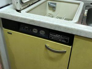 トップオープン 食器洗い乾燥機 ヤマハ 取替え工事
