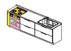 キッチン ビルトインオーブン 設置