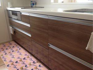 一建設 ファーストプラスキッチン食洗機後付け新設工事