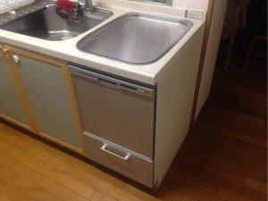 三菱製トップオープン食洗機 交換 EW-CB55P パナソニックNP-45RS7S