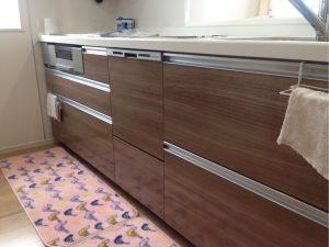 建売住宅 ビルトイン食洗機 設置