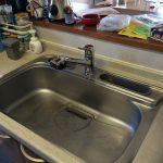 キッチン水栓 食洗機 取替え交換 事例