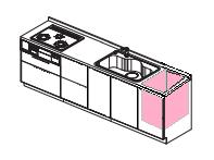 東芝トップオープン食洗機 撤去
