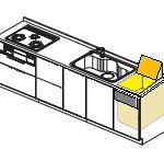 松下キッチン トップオープンビルトイン食器洗浄機 リフォーム方法