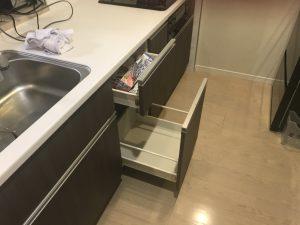 マンションビルトイン食洗機 タカラ 後付け工事