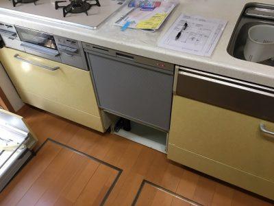 大阪ガス,115-5035,パナソニック,スライド食洗機,リンナイ,食洗機,RKW-404A-SV,保証付き,キッチン取付け隊,入替
