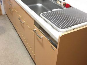 ヤマハ 食洗器 上フタ式取替え交換工事