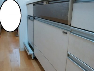 新規設置,後付け,システムキッチン,リフォーム,取り付け,あとからビルトイン,新規取り付け,NP-45MS8S,ミドル,パナソニック,ミカド