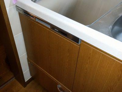 食洗機,トップオープン,取り付け,上開き,買い換え,交換,取り替え,リフォーム,ビルトイン,食洗機交換工事,取り付け,NP-45MS8W,パナソニック