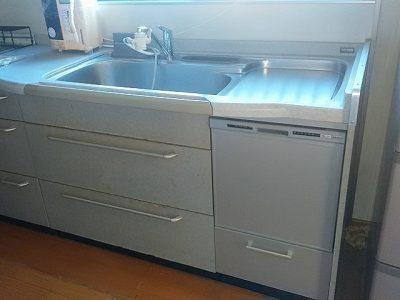 食洗機,トップオープン,取り付け,上開き,買い換え,交換,取り替え,リフォーム,ビルトイン,食洗機交換工事,取り付け,NP-45RS7SJGK,パナソニッ