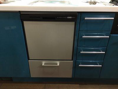 食洗機,トップオープン,取り付け,上開き,買い換え,交換,取り替え,リフォーム,ビルトイン,食洗機交換工事,取り付け,EW-CB51-YH,NP-45RS7KJGK