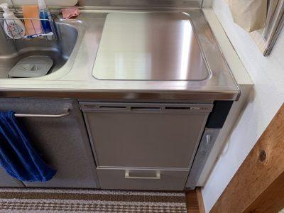 食洗機,トップオープン,取り付け,上開き,買い換え,交換,取り替え,リフォーム,ビルトイン,食洗機交換工事,取り付け,NP-45VS7S,パナソニック,東芝