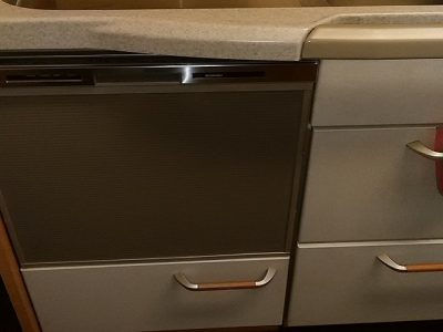 食洗機,トップオープン,取り付け,上開き,買い換え,交換,取り替え,リフォーム,ビルトイン,食洗機交換工事,取り付けNP-45MS8S,パナソニック,