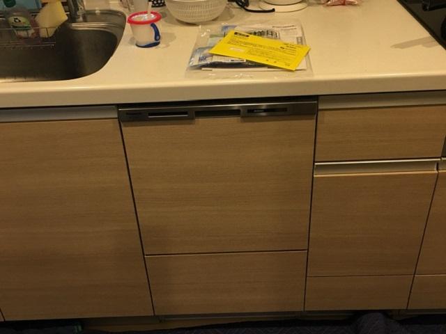 新規設置,後付け,システムキッチン,リフォーム,取り付け,あとからビルトイン,新規取り付け,NP-45MS8S,ミドル,パナソニック,LIXIL
