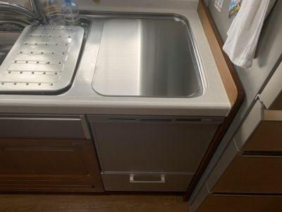 食洗機,トップオープン,取り付け,上開き,買い換え,交換,取り替え,リフォーム,ビルトイン,食洗機交換工事,取り付け,NP-45RS7SJGK,パナソニック,LIXIL