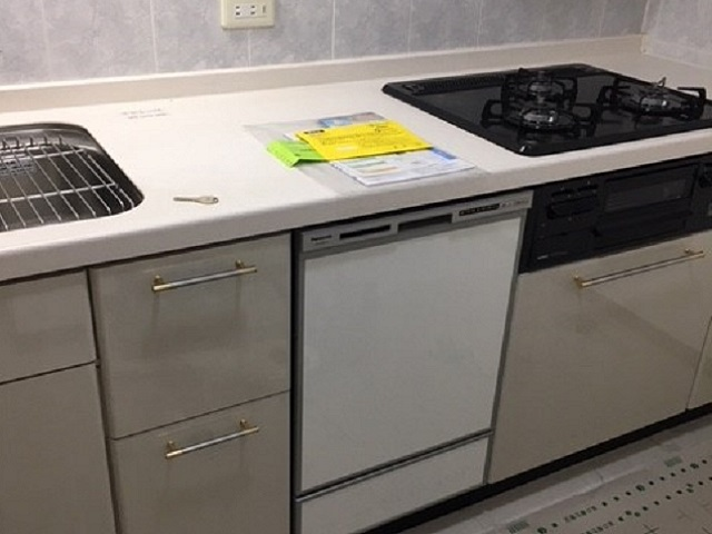 新規設置,後付け,システムキッチン,リフォーム,取り付け,あとからビルトイン,新規取り付け,NP-45RD7S,パナソニック,ビルトイン食洗機,,食洗器,食器洗い機,食器洗い乾燥機,ビルトイン