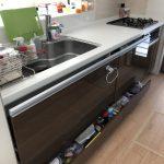 アイディホーム食洗機後付け新設工事 クリナップキッチン