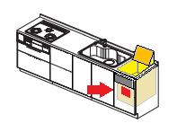 ナショナルトップオープン食洗機 交換工事 品番