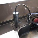 カウンターオン浄水器 取替え交換