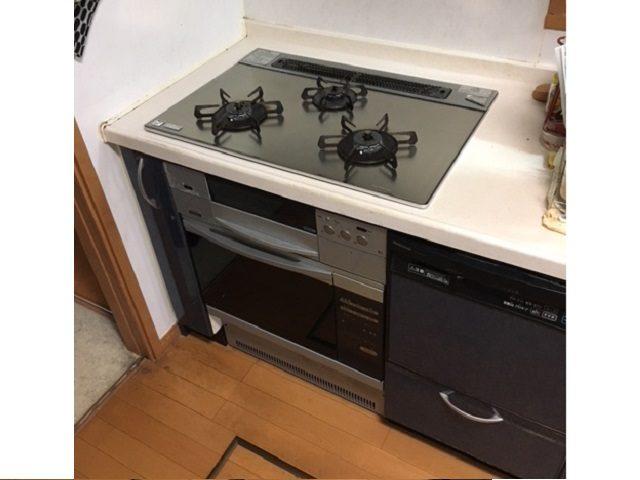 ガスオーブン、取替え、ハーマン、ビルトイン機器、交換工事、ガスオーブン入替え