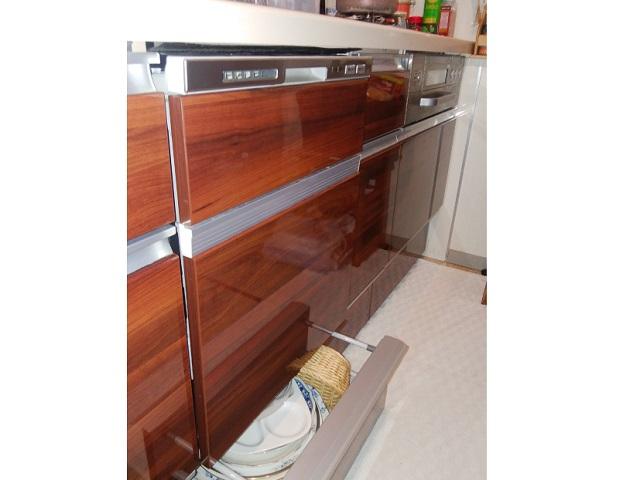 食洗機,買い換え,交換,取り替え,リフォーム,ビルトイン,食洗機交換工事,取り付け,扉材再利用,パナソニック