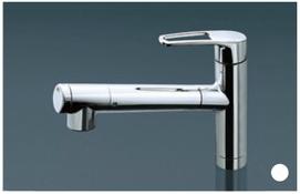 三菱ケミカル・クリンスイ製(Housetec) F426-HT 浄水器内蔵水栓(ホース付・エコ) ▼浄水器
