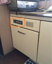 タカラスタンダード 60cm大型食器乾燥機 取替え交換工事