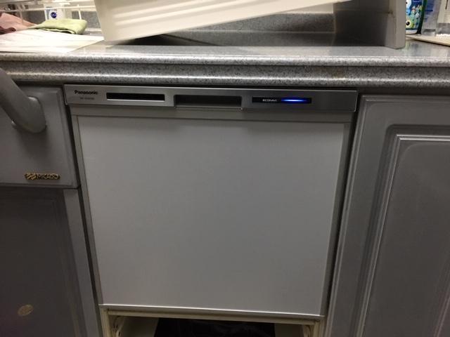 食洗機取り付け,買い換え,交換,取り替え,リフォーム,ビルトイン,食洗機交換工事,取り付け,NP-45MS8S,パナソニック