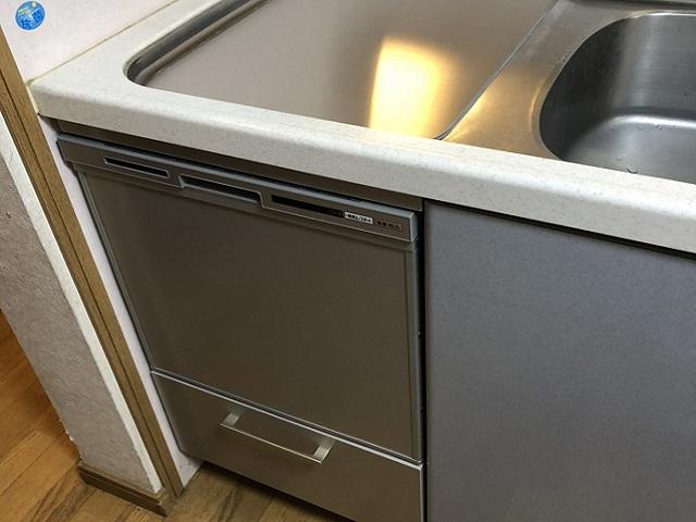 JS-NP-45VSASS,食洗機,トップオープン,取り付け,上開き,買い換え,交換,取り替え,リフォーム,ビルトイン,食洗機交換工事,取り付け