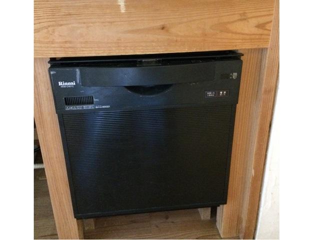 食洗機,スライドオープン,取替え,交換工事,リンナイ,リクシル,素取替え