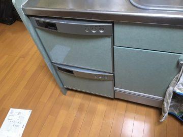 食洗機,スライドオープン,取替え,交換工事,リンナイ,パナソニック,NP-45MD8S,ディープ