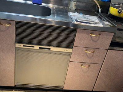 新規設置,後付け,システムキッチン,リフォーム,取り付け,あとからビルトイン,新規取り付け,RSWA-C402-SV,ミドル,リンナイ,コンパクト