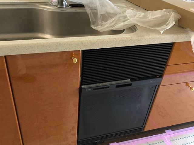 食洗機,買い換え,交換,取り替え,リフォーム,ビルトイン,食洗機交換工事,取り付け,リンナイ,RSWA-C402C-B