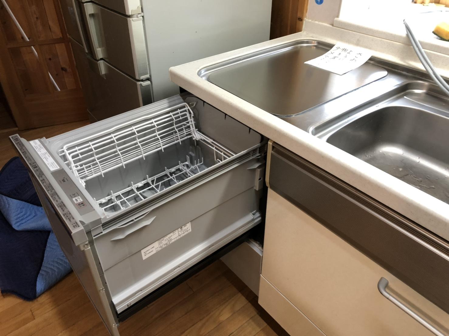 トップ買い換え 食洗機,トップオープン,取り付け,上開き,買い換え,交換,取り替え,リフォーム,ビルトイン,食洗機交換工事,取り付け,NP-45RS7SJGK,パナソニックク,LIXIL