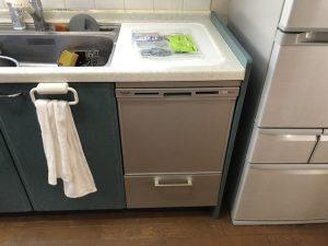 食洗機,トップオープン,取り付け,上開き,買い換え,交換,取り替え,リフォーム,ビルトイン,食洗機交換工事,取り付け,パナソニック,NP-45VS7S