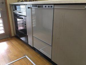 NP-3000B-O,新規設置,後付け,システムキッチン,リフォーム,取り付け,あとからビルトイン,新規取り付け,フロントオープン