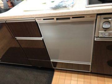 食洗機,買い換え,交換,取り替え,リフォーム,ビルトイン,食洗機交換工事,取り付け,シルバー,パナソニック,NP-45VD7S