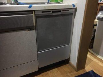 食洗機,トップオープン,取り付け,上開き,買い換え,交換,取り替え,リフォーム,ビルトイン,食洗機交換工事,取り付け,パナソニック,NP-45RS7SJGK