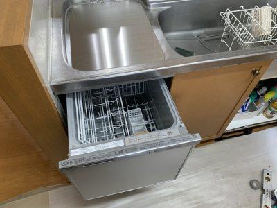 食洗機,トップオープン,取り付け,上開き,買い換え,交換,取り替え,リフォーム,ビルトイン,食洗機交換工事,取り付け,パナソニック製,NP-45MS8S