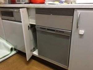 NP-45MS8S,パナソニック,ミカド,食洗機,トップオープン,取り付け,上開き,買い換え,交換,取り替え,リフォーム,ビルトイン,食洗機交換工事,取り付け