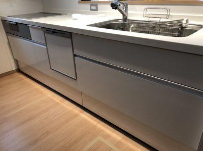 新規設置,後付け,システムキッチン,リフォーム,取り付け,あとからビルトイン,新規取り付け,パナソニック,ビルトイン食洗機,NP-45RS7SJGK,LIXILシステムキッチン,シエラ