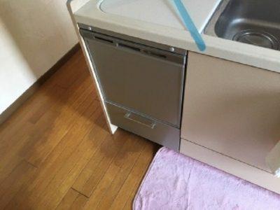 食洗機,トップオープン,取り付け,上開き,買い換え,交換,取り替え,リフォーム,ビルトイン,食洗機交換工事,取り付け,パナソニック製,NP-45MS8SAA