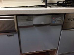 食洗機,買い換え,交換,取り替え,リフォーム,ビルトイン,食洗機交換工事,取り付け,シルバー,パナソニック,NP-45RS7SJGK,ビルトイン食器洗い乾燥機